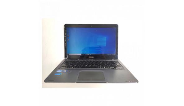 "Металевий та компактний ноутбук Toshiba Satallite U840, 14"", Core I3-2377M (2x1.5 GHz), 4 GB RAM, 32 GB SSD + 500 GB HDD, Б/В"