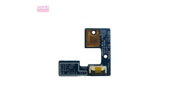 Кнопка включення + мультимедійні кнопки, для ноутбука, Acer Aspire 5542G, 5738, 48.4CG03.011, Б/В, В хорошому стані, без пошкоджень