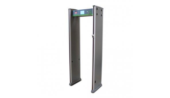 Арочный металлодетектор с функцией измерения температуры  ZKTeco ZK-D3180S(TD) на 18 зон детекции