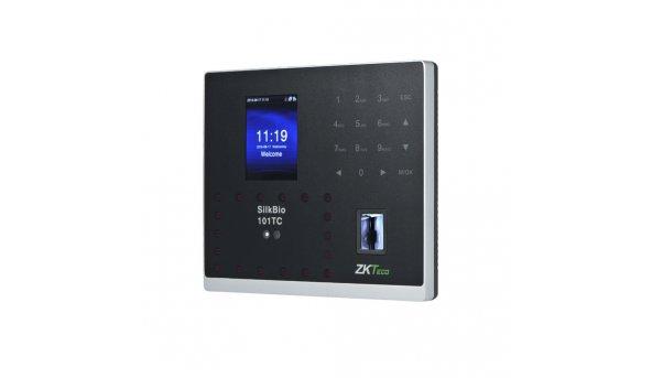 Биометрический терминал ZKTeco SilkBio-101TC[ID] с распознаванием лиц, считывателем отпечатка пальца и RFID карт EM-Marine