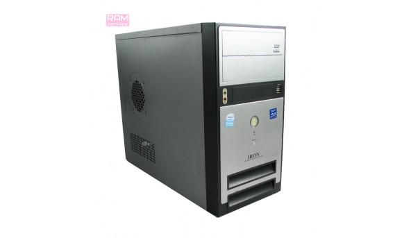 Системный блок Iron multimedia computer system, Intel Pentium E2140 (1600 MHZ), DDR2 2 Gb, HDD 160 Gb, NVidia GeForce GT 620 (2 Gb), Windows 7, Б/В
