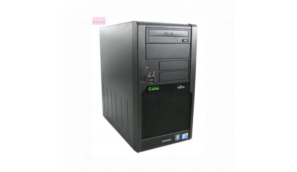 Системний блок Fujitsu Esprimo P9900 Tower, Intel Core i5-650 (3.2 - 3.46 GHz), DDR3 4Gb, HDD 500 Gb, Windows 10, Б/В