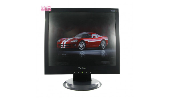 "Монітор ViewSonic VA703b, 17"", TN+film, 1280х1024 , 5:4, 1000:1, 8ms, 170/155, D-sub, Б/В"