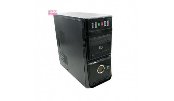 Системний блок BTC, AMD Athlon II X3 435 (2.9GHz), DDR3 4Gb, HDD 1 Tb, AMD 760G, Windows 7, Б/В