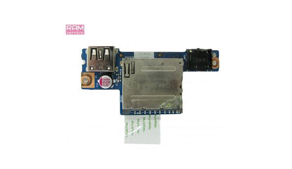 """Додаткова плата, роз'єми USB, Audio, Card Reader, для ноутбука, Lenovo IdeaPad G50, 15.6"""", 45508812051, Б/В, В хорошому стані, без пошкоджень"""