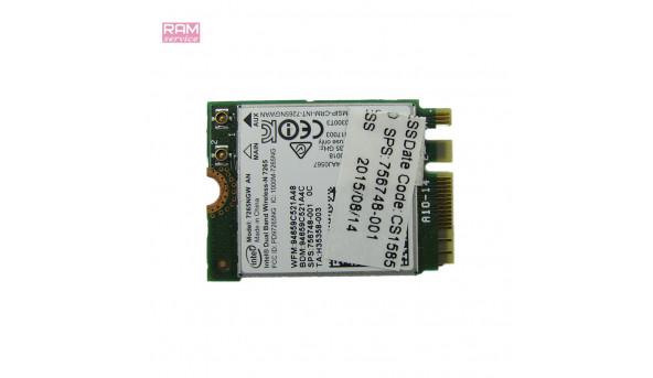 """Адаптер Wireless Bluetooth Card, знятий з ноутбука, HP EliteBook 840 G1, 14.0"""", 756748-001, Б/В, В хорошому стані, без пошкоджень"""