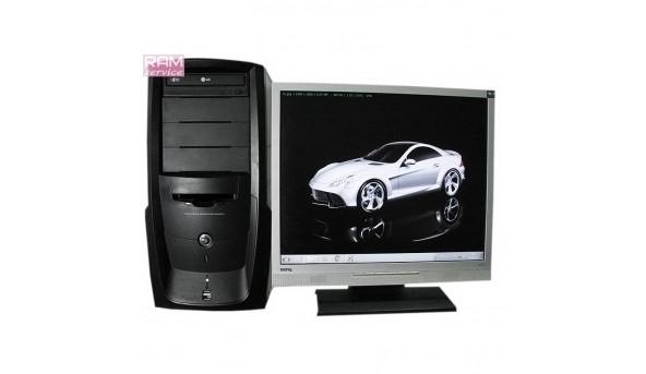 Системний блок Multimedia Computer System, AMD Athlon 64 X2 4200+ (2.2GHz), DDR2 1Gb, HDD 250 Gb, NVIDIA GeForce 6150 SE, Windows 7, Б/В