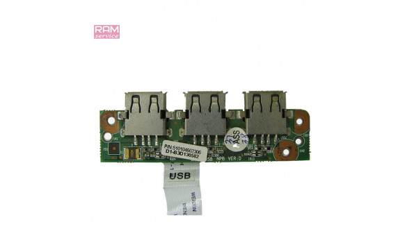 Додаткова плата, роз'єми USB, 3 шт, для ноутбука, OKey, 510104602306, Б/В, В хорошому стані, без пошкоджень