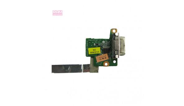 """Додаткова плата, VGA роз'єм, для ноутбука, Lenovo ThinkPad X121e, 11.6"""", DA0FL8IB8C0, Б/В, В хорошому стані, без пошкоджень"""
