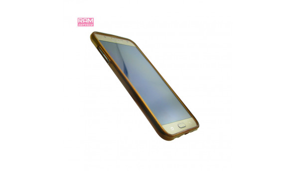 "Смартфон Samsung Galaxy J7 (J700H), Gold + чохол, 5.5"", ОЗУ 1,5 ГБ, 16 ГБ, основна 13 Мп,  фронтальна 5.0 Мп, Android 6.0, Б/В"