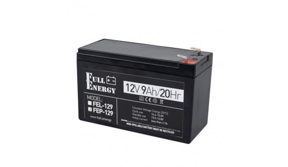Аккумулятор 12В 9 Ач для ИБП Full Energy FEP-129