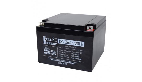Аккумулятор 12В 26 Ач для ИБП Full Energy FEP-1226