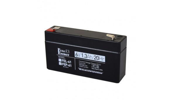 Аккумулятор 6В 1.3 Ач для ИБП Full Energy FEP-61