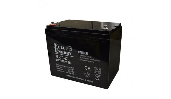 Аккумулятор 12В 70 Ач для ИБП Full Energy FEP-1270