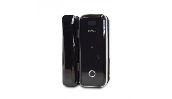 Smart замок ZKTeco GL300  right для стеклянных дверей со сканером отпечатка пальца и считывателем Mifare