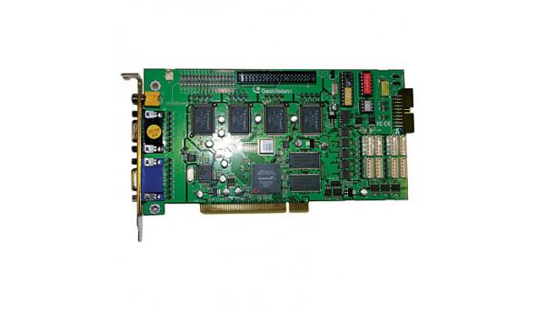 Плата видеорегистрации GV-1480 б/у для систем видеонаблюдения