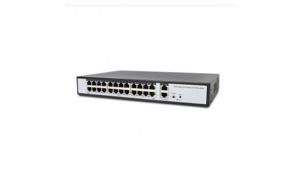 Неуправляемый PoE-коммутатор ATIS PoE-1026-24P Pro с 24 портами PoE