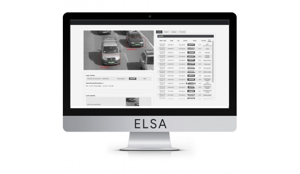 Программное приложение NumberOk EDGE ELSA ANPR App for Uniview cameras для распознавания автономеров