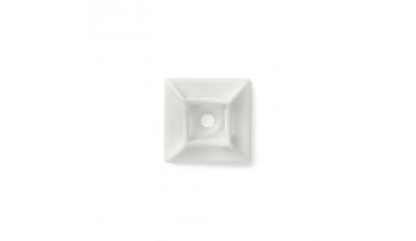 Площадка для стяжки Relfix самоклеящаяся универсальная 20 x 20 мм (50шт/уп) белая