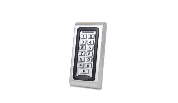 Металлическая кодовая клавиатура со считывателем EM-Marine ATIS AK-601P_v1