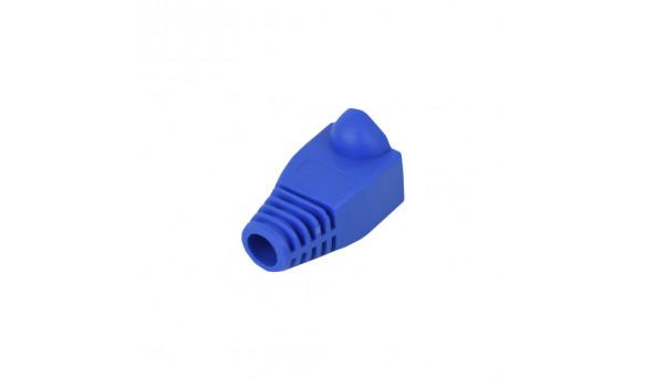 Колпачок для коннектора RJ 45 (100 шт.) синий