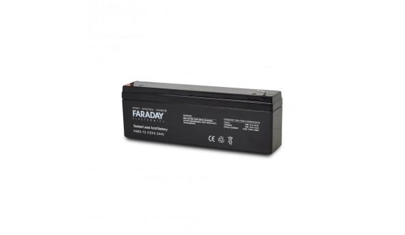 Аккумулятор 12В 2 Ач для ИБП Faraday Electronics FAR2-12