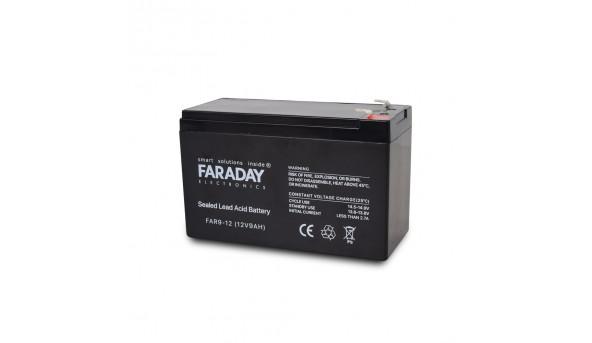 Аккумулятор 12В 9 Ач для ИБП Faraday Electronics FAR9-12