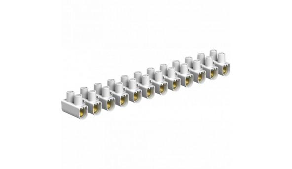 Клеммная колодка 12-ти полюсная 3 А для проводников с сечением до 4 мм²