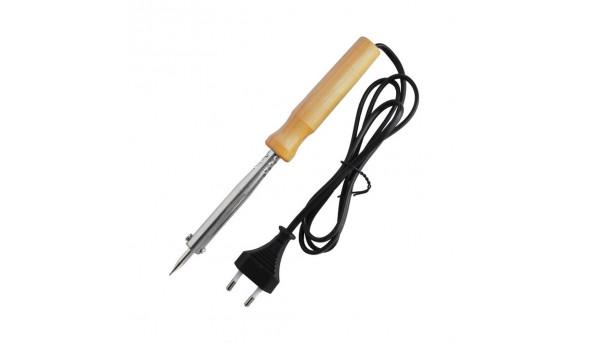 Паяльник WD-60W 220V с деревянной ручкой