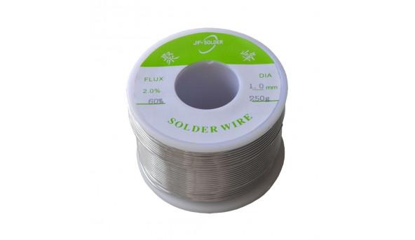 Припой ПОС-60 диаметр 1мм 250 г на катушке