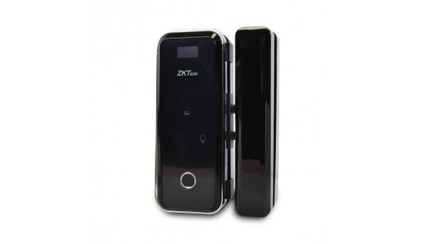 Smart замок ZKTeco GL300 left для стеклянных дверей со сканером отпечатка пальца и считывателем Mifare