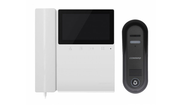 Комплект видеодомофона (Commax CDV-43K2 + DRC-4CPN3)