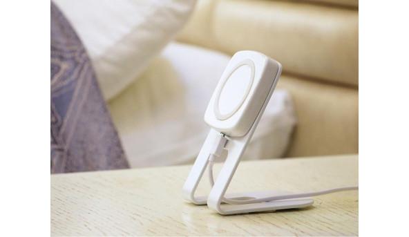 Комплект магнитной беспроводной зарядки RICAM Desk Kit Type-C White