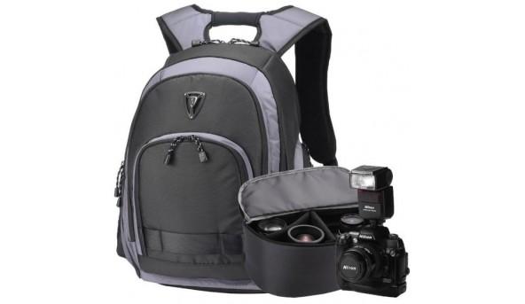 Рюкзак для ноутбука Sumdex Рюкзак для ноутбука PON-395GY черный с серыми вставками 15.6-16''