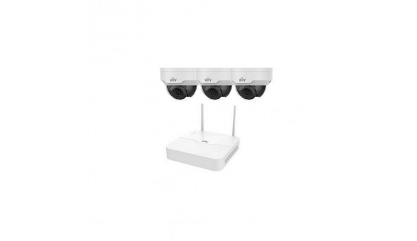 Комплект видеонаблюдения IP Uniview KIT/NVR301-04LB-W/3*322SR3-VSF28W-D