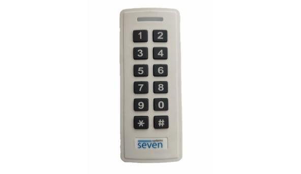 Контроллер + считыватель с кодовой клавиатурой SEVEN CR-7467w EM-Marin