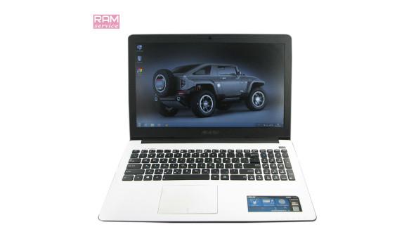 "Ноутбук Asus X502C, 15.6"", Intel Pentium 2117U, 4 GB, 500 GB, Intel HD Graphics 2500, Windows 7, Б/В"