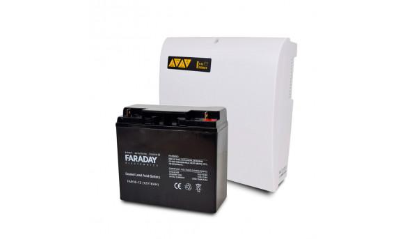 Комплект блок бесперебойного питания Full Energy BBGP-1210 + аккумулятор 12В 18 Ач для ИБП Faraday Electronics FAR18-12