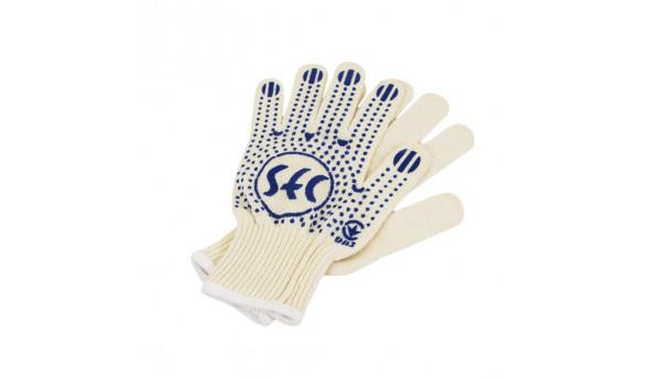 Перчатки SEC с ПВХ точкой 10 класс вязки