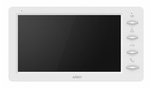 Видеодомофон ARNY AVD-709 1MPX White