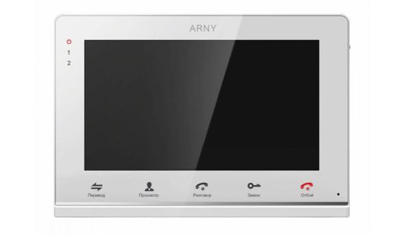 Видеодомофон ARNY AVD-715M White