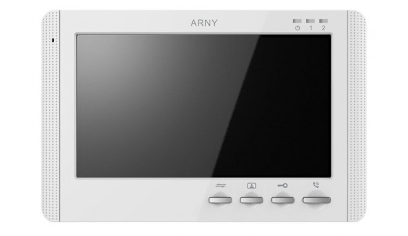 Видеодомофон ARNY AVD-709MD White