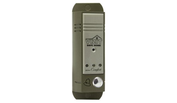 Блок виклику БВД-403CPL використовується як складова частина відеодомофона VIZIT для 1 абонента;